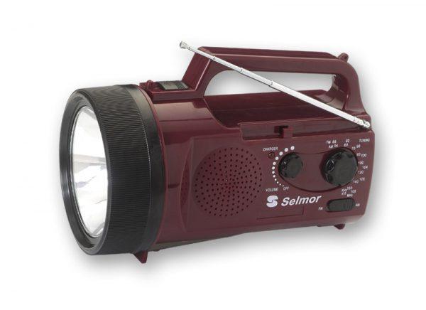 רנאור נטען + רדיו סלמור NRD-622