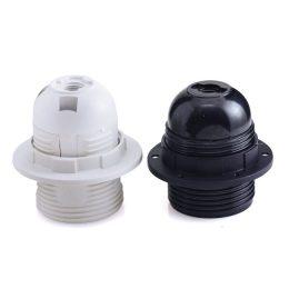 בית מנורה טבעת E-27 שחור