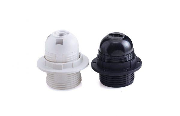 בית מנורה טבעת E-14 לבן