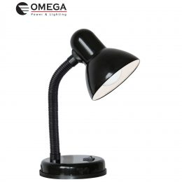 מנורת שולחן ליבון שחור
