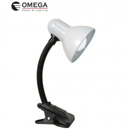 מנורת קליפס אומגה לבן