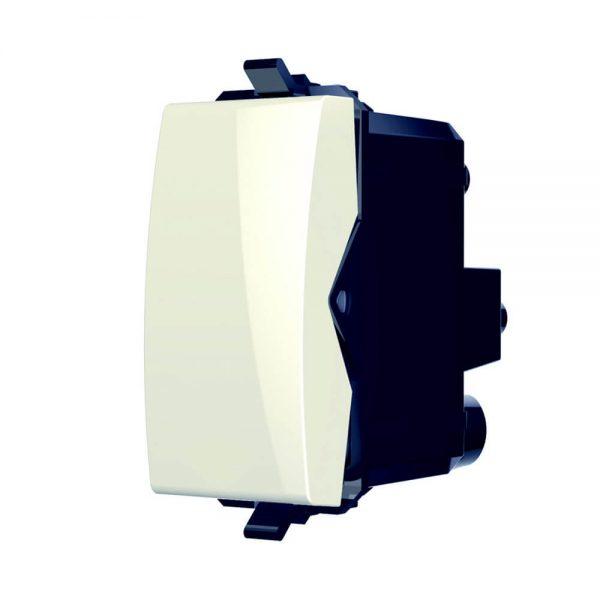 נס מפסק צלב מודול 1 לבן